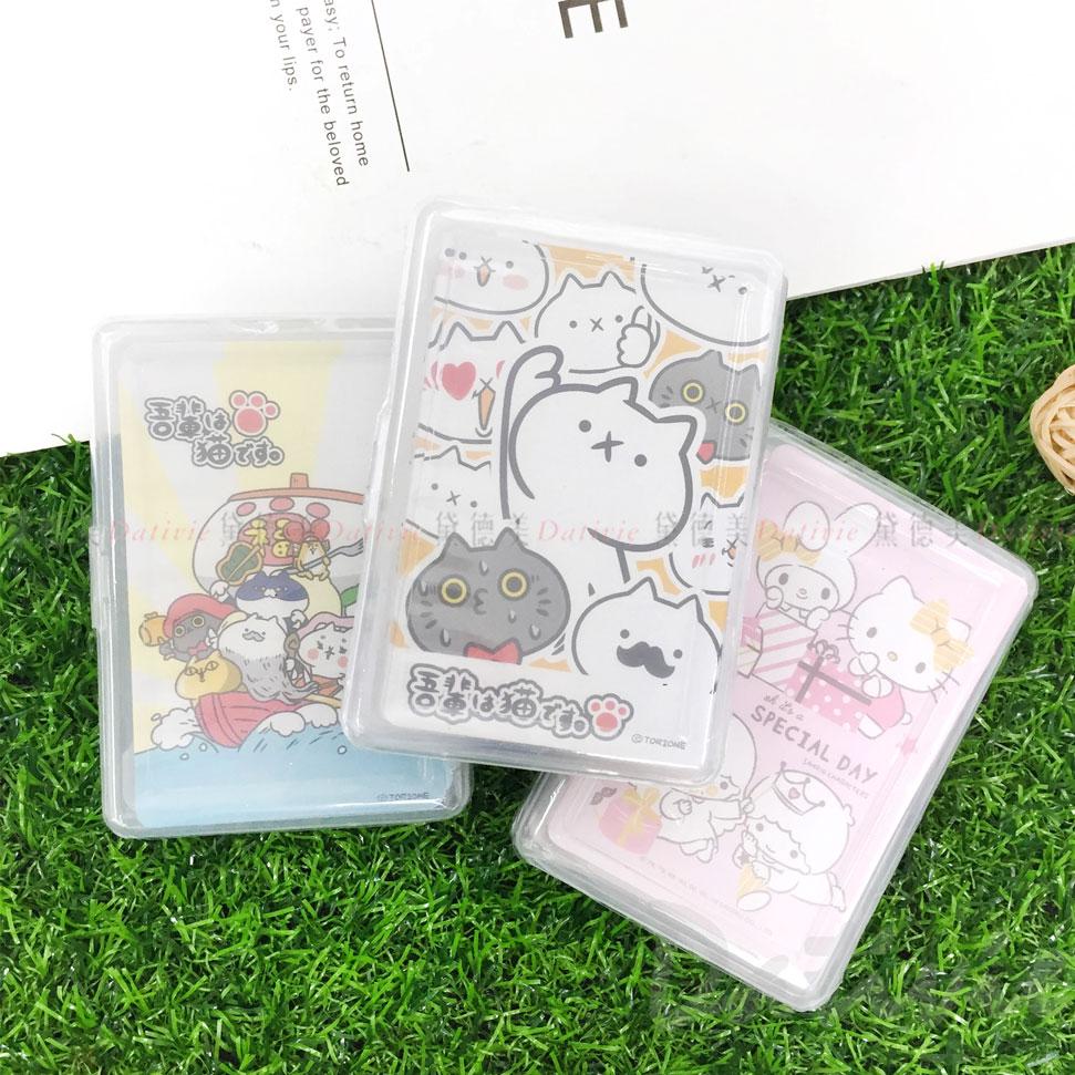 撲克牌 盒裝撲克牌 三麗鷗 反應過激的貓 三款 正版授權