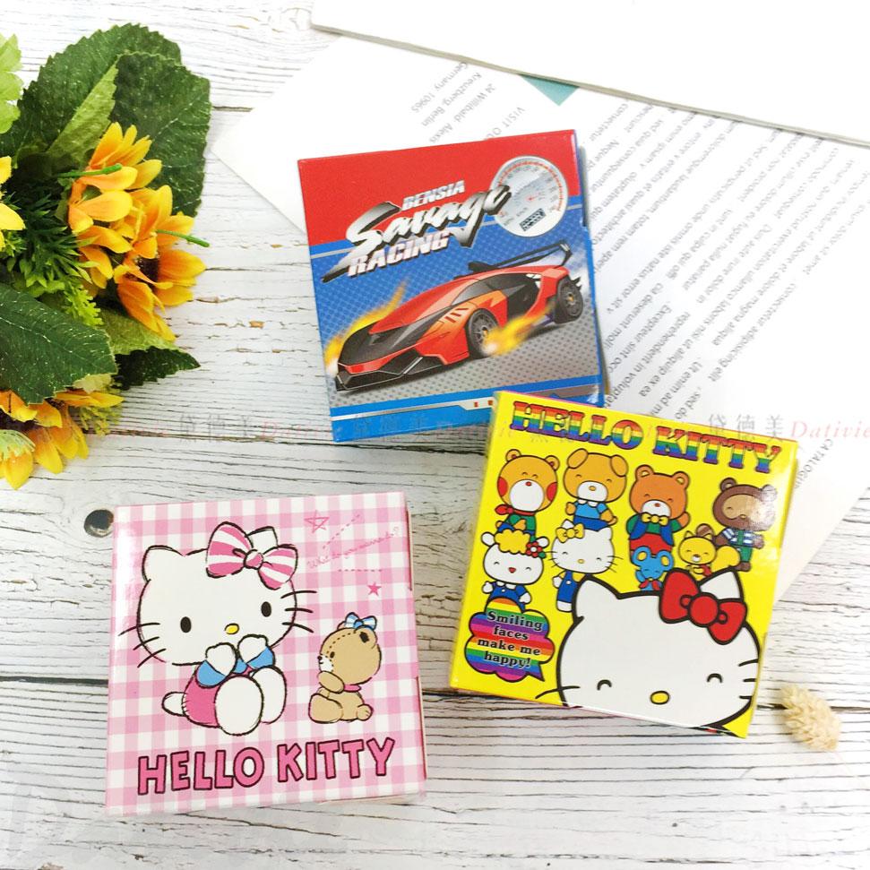 Hello kitty 三麗鷗 超大盒裝抽拉貼紙 車子 三款 正版授權