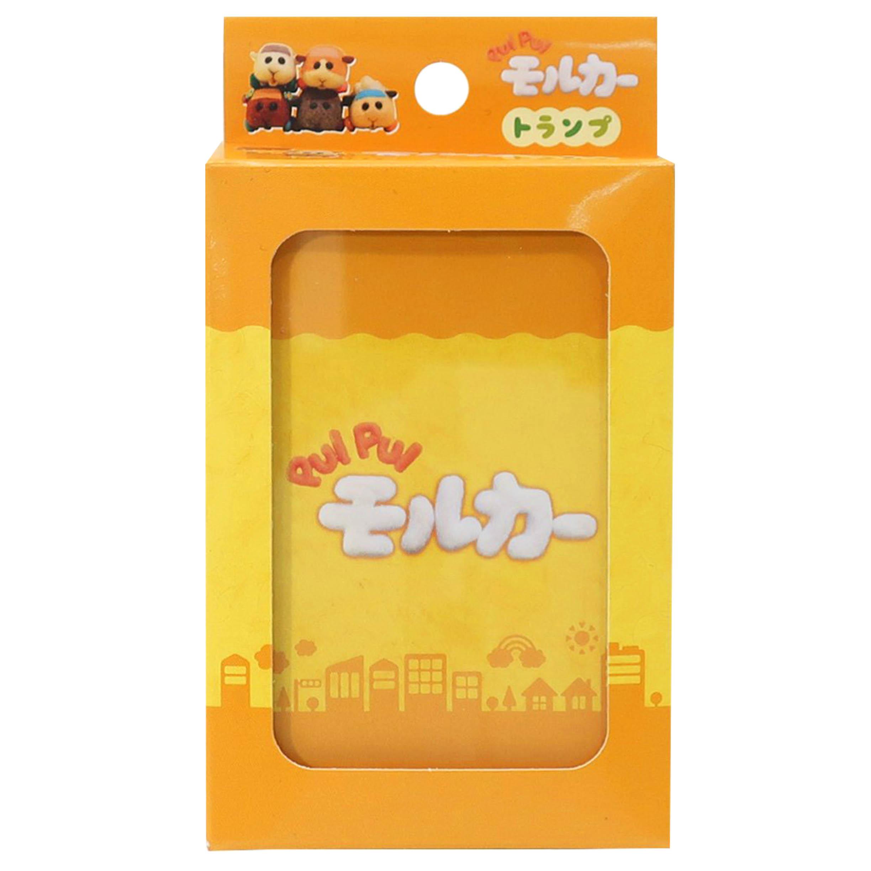 撲克牌-天竺鼠車車 PUIPUI モルカー クリアファイル 日本進口正版授權