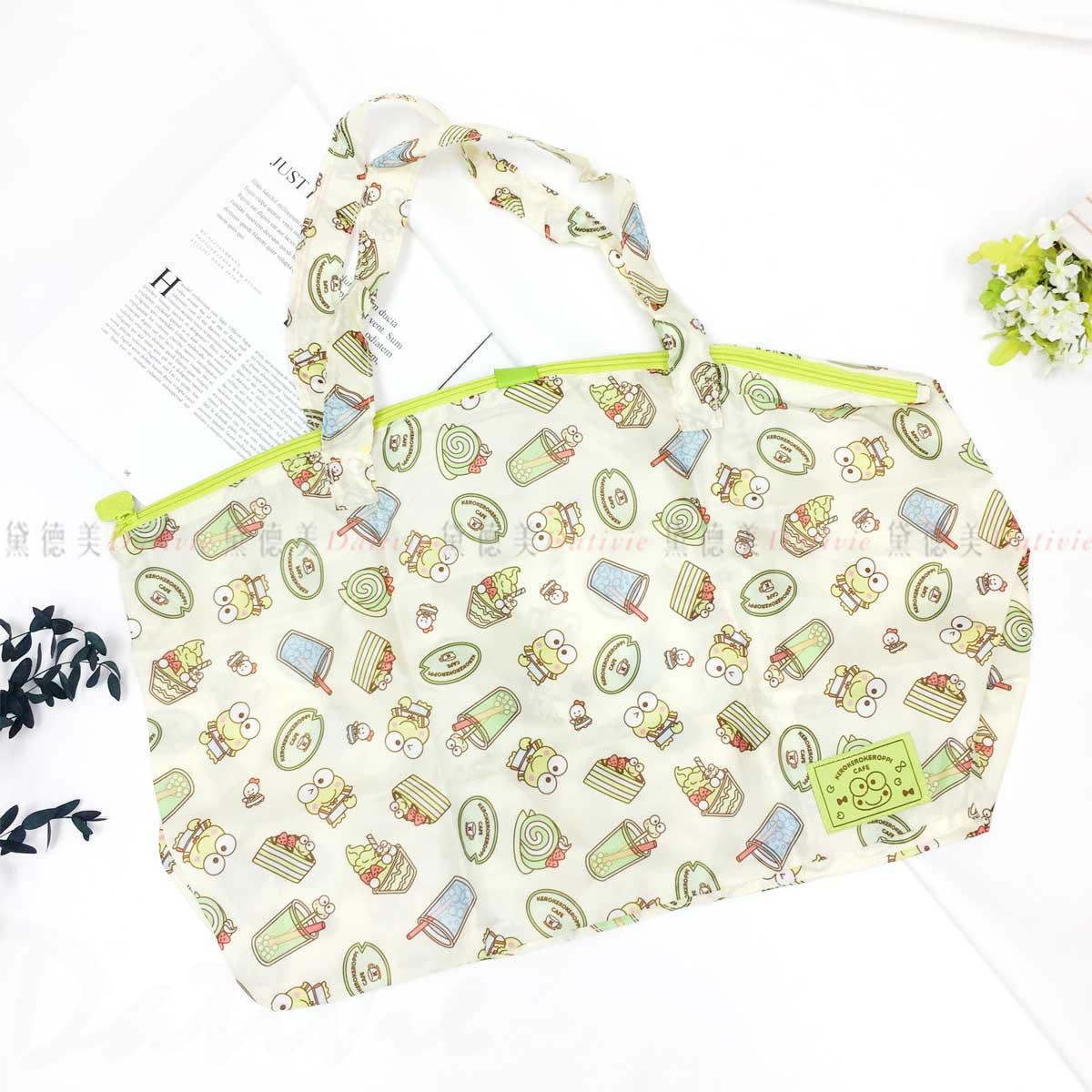 環保購物袋-大眼蛙 Keroppi ECO BAG 三麗鷗 Sanrio Original日本進口正版授權