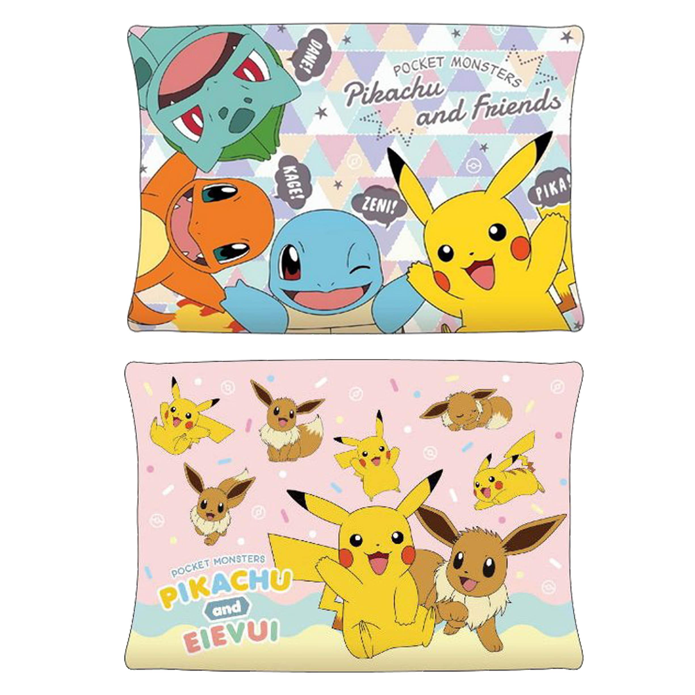枕頭 43x63cm-皮卡丘 神奇寶貝 寶可夢 Pokémon 日本進口正版授權
