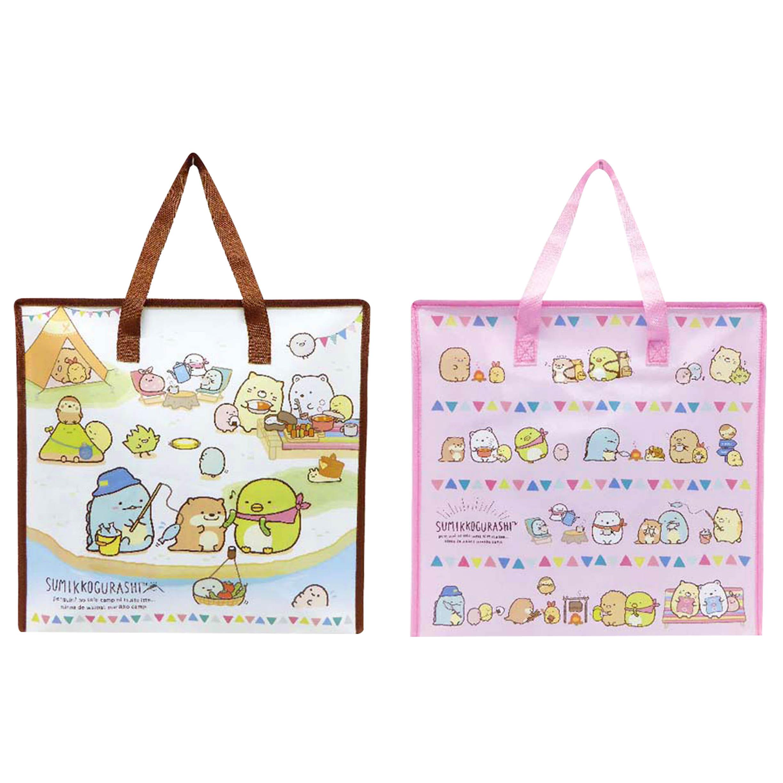 大容量尼龍購物提袋 25L-角落生物 sumikko gurashi san-x  日本進口正版授權
