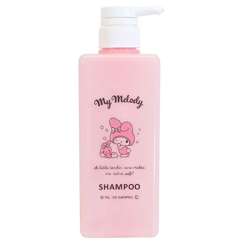 洗髮精按壓空瓶 600ml-美樂蒂 SHAMPOO 三麗鷗 Sanrio 日本進口正版授權