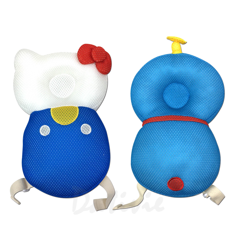 寶寶護頭背包-凱蒂貓 哆啦A夢 防撞護具 學步防摔枕 三麗鷗 Sanrio 日本進口正版授權