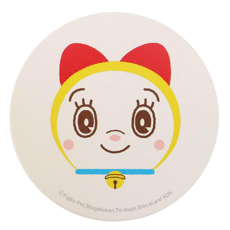 陶瓷吸水杯墊-小叮鈴 哆啦A夢 DORAEMON 三麗鷗 Sanrio 日本進口正版授權