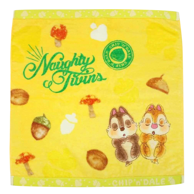 純棉方巾 34x36cm-奇奇蒂蒂 SEK抗菌防臭 迪士尼 DISNEY 日本進口正版授權