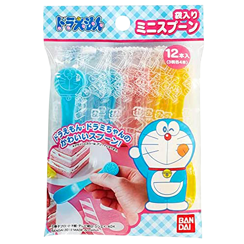 小湯匙 12入-哆啦A夢 小叮噹 DORAEMON 三麗鷗 Sanrio  日本進口正版授權