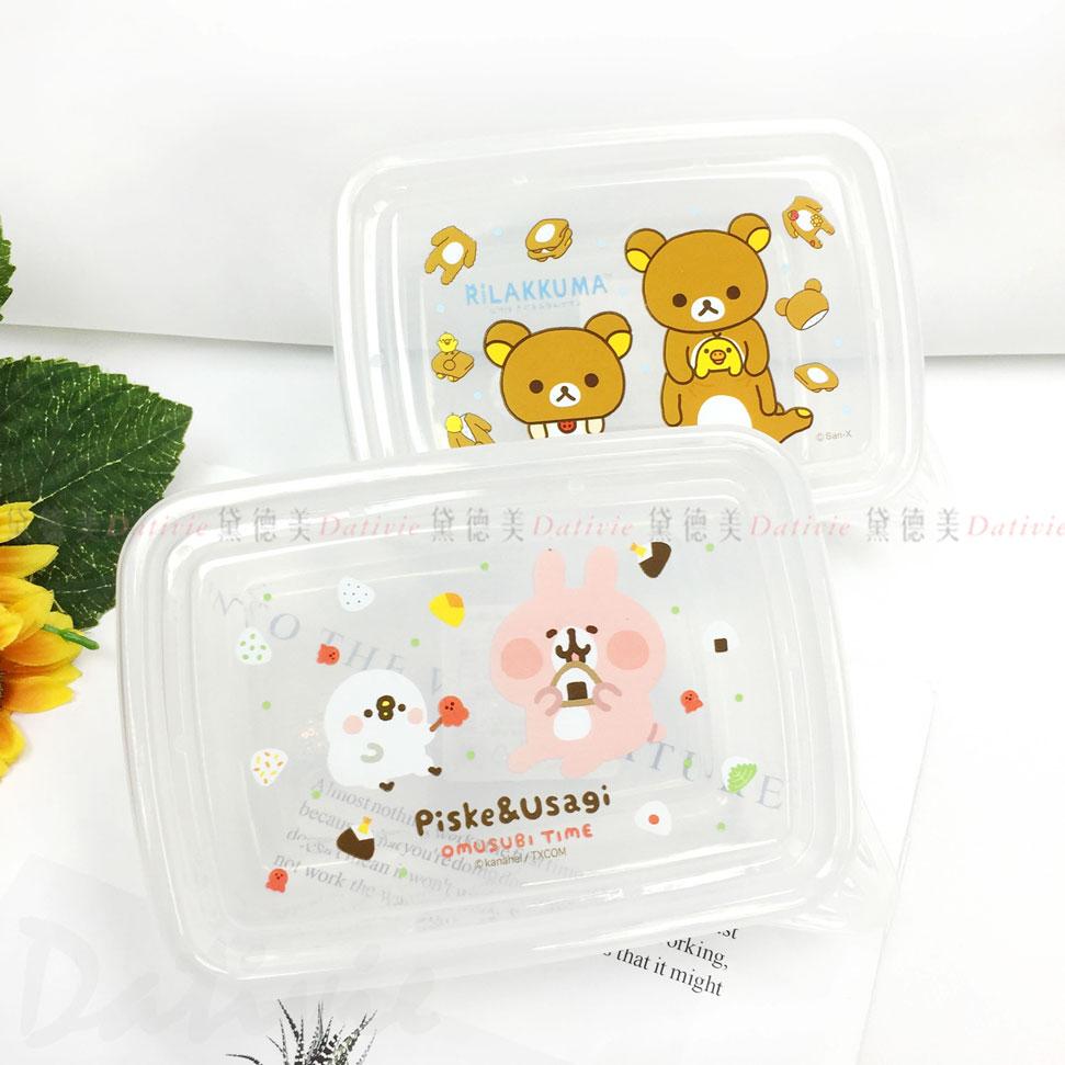 卡納赫拉 懶懶熊 拉拉熊 P助 小餐盒 兩款 正版授權