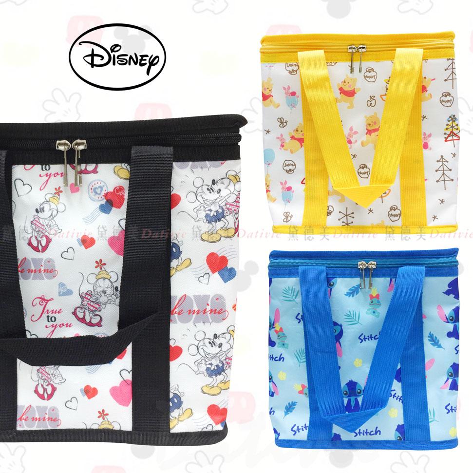 迪士尼 方形保冷袋 保溫保冷 維尼 史迪奇 米奇 正版授權
