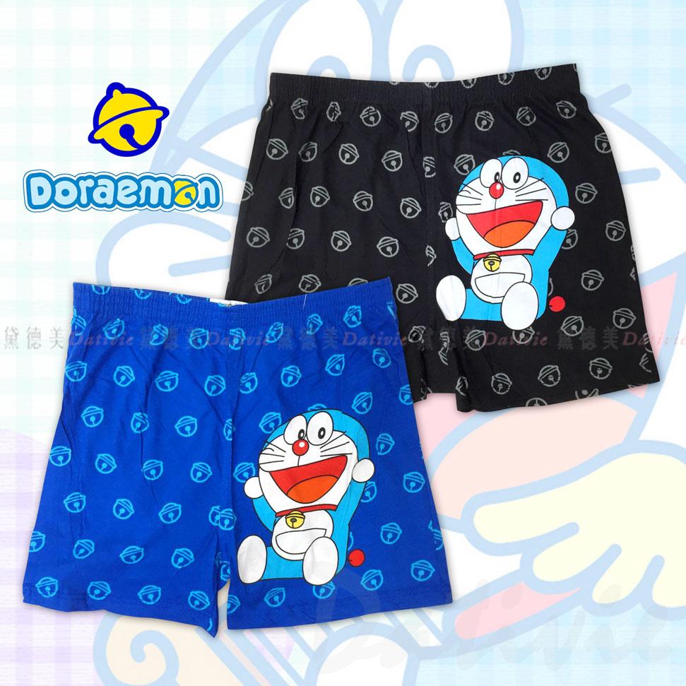 哆啦a夢 成人純棉 平口褲 兩色 M/L/XL 小叮噹 正版授權