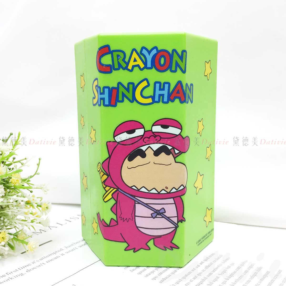 巧克比鱷魚餅乾存錢筒-蠟筆小新 Crayon Shin Chain クレヨンしんちゃん 韓國正版授權