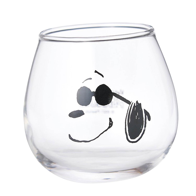 玻璃杯-史努比 SNOOPY PEANUTS Vintage 日本進口正版授權