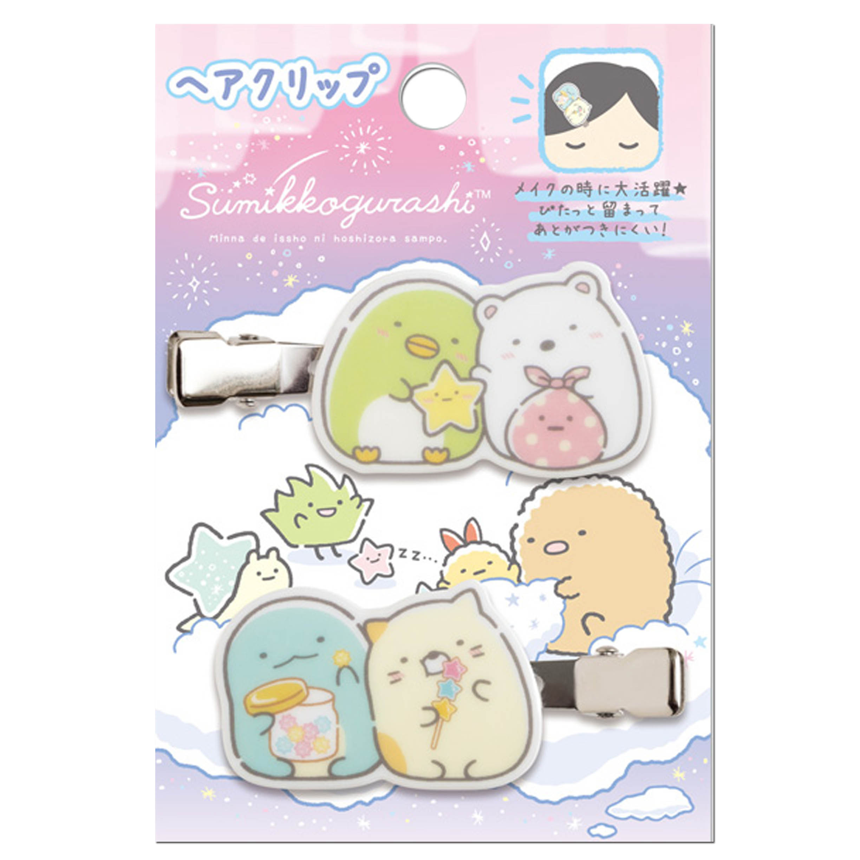髮夾 2入-星空系列 角落生物 sumikko gurashi san-x 日本進口正版授權