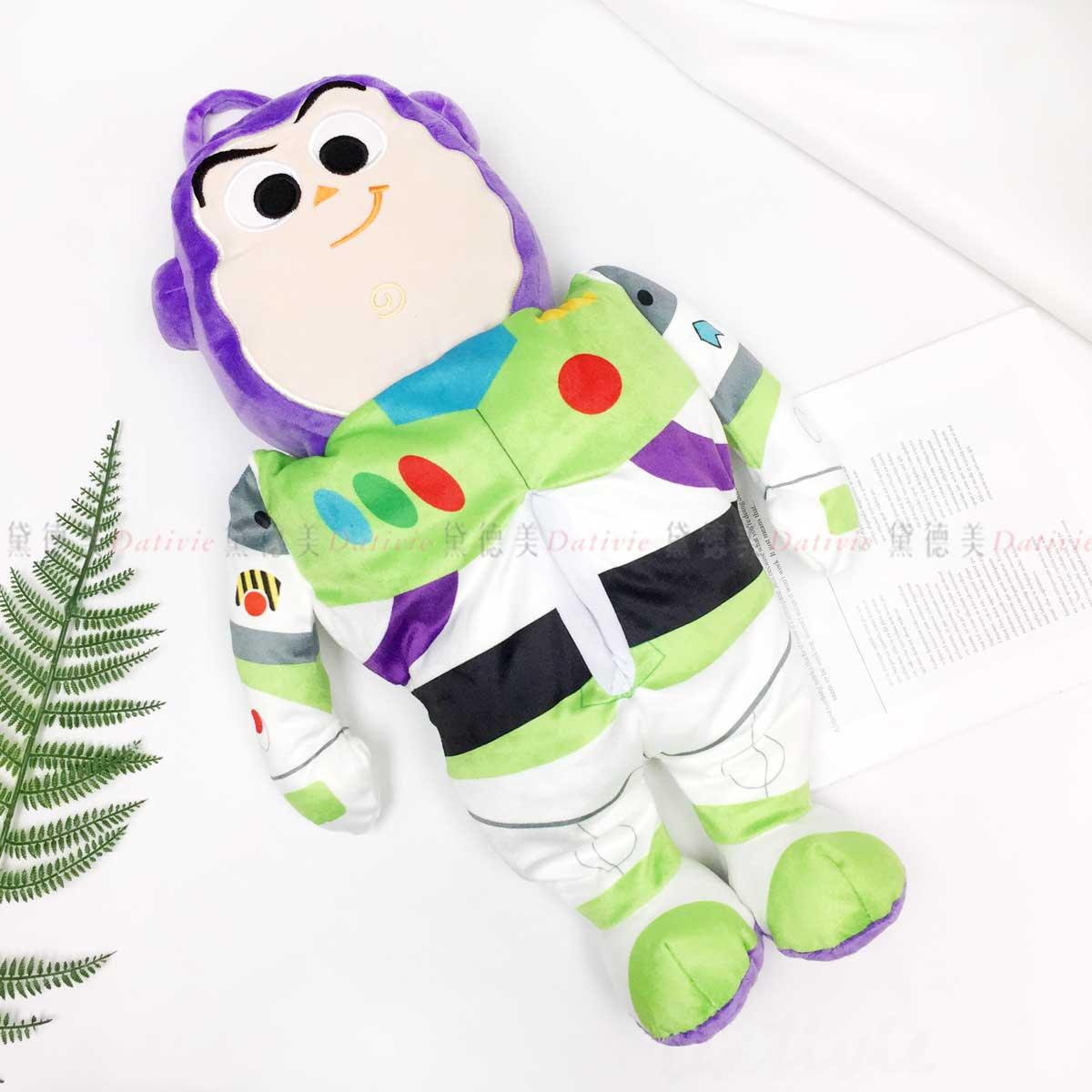 造型絨毛面紙套-巴斯光年 玩具總動員 TOY STORY 迪士尼 DISNEY