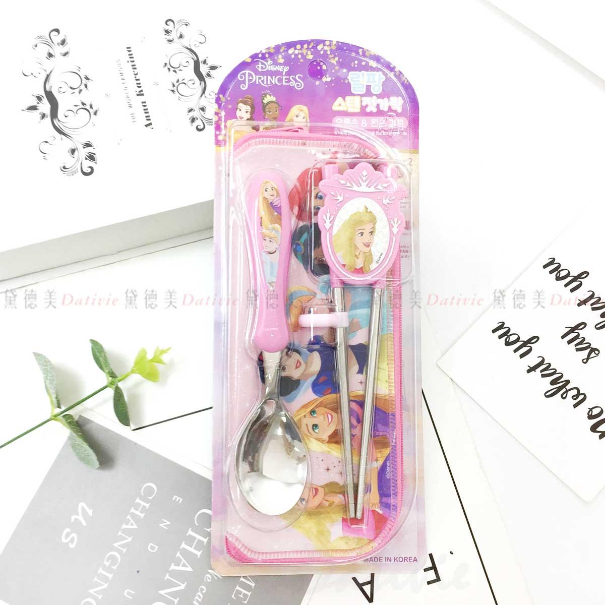 兒童學習筷-公主系列 迪士尼 DISNEY LILFANT 韓國進口正版授權