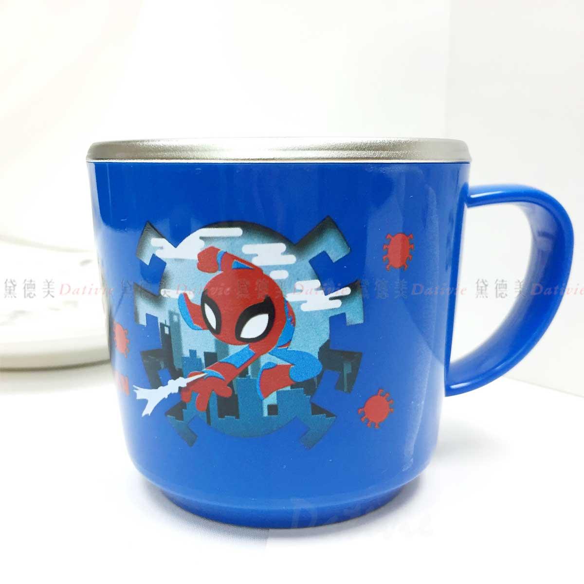 不鏽鋼杯 250ml-蜘蛛人 Spider Man 漫威 迪士尼 DISNEY MARVEL LILFANT 韓國進口正版授權