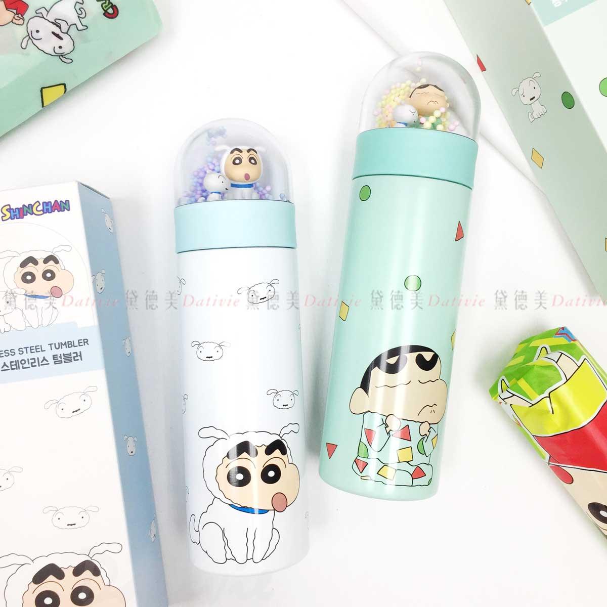 水晶球不鏽鋼保溫杯 350ml-蠟筆小新 Crayon Shin Chain クレヨンしんちゃん 韓國進口正版授權