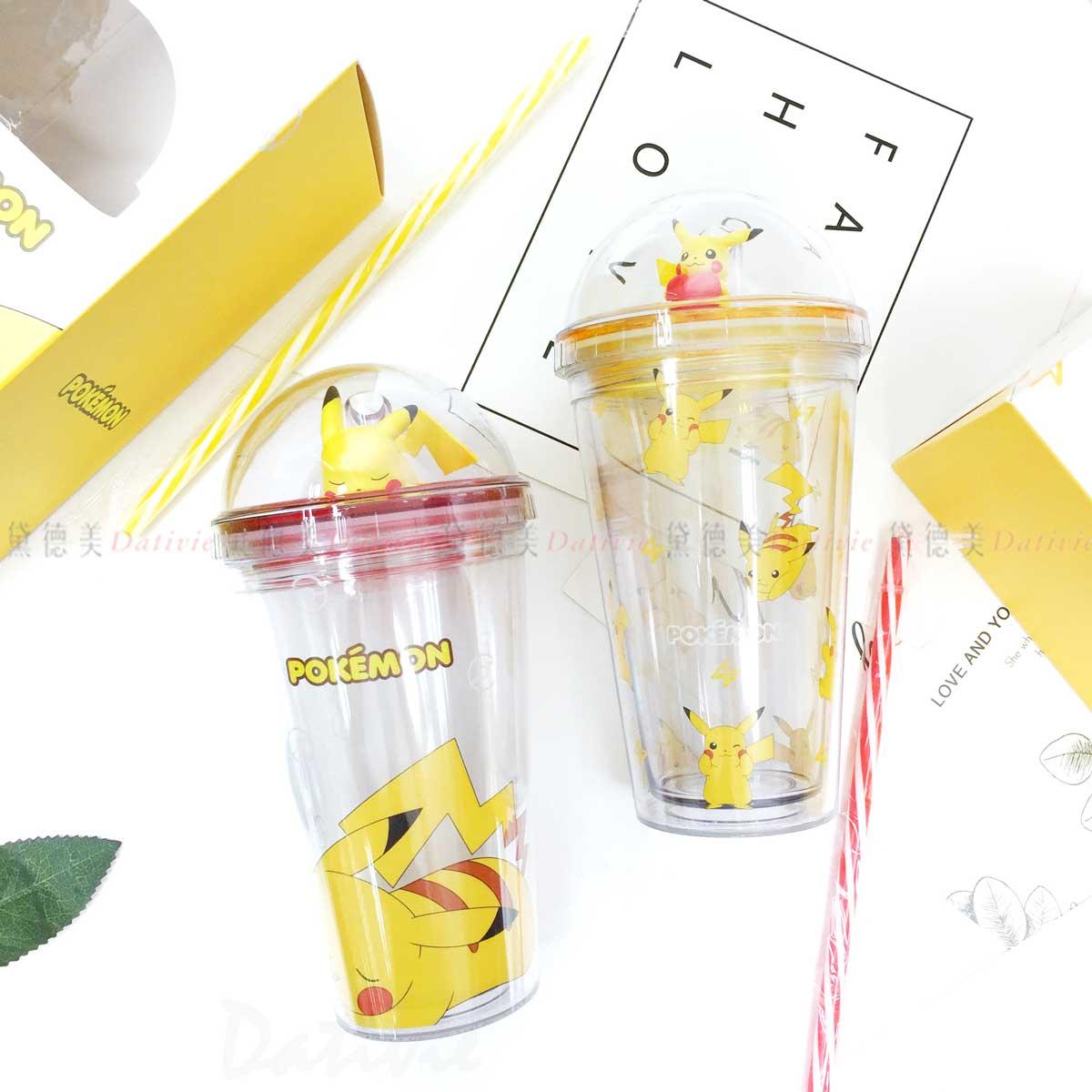 冷飲隨行杯 475ml-皮卡丘 神奇寶貝 寶可夢 Pokemon 韓國進口正版授權