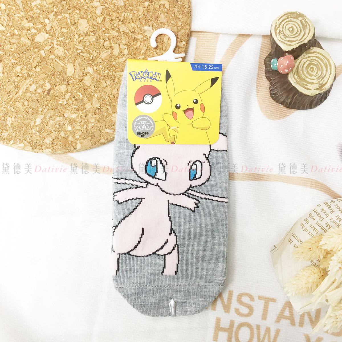 寶可夢 夢幻 直版襪 15~22cm 正版授權