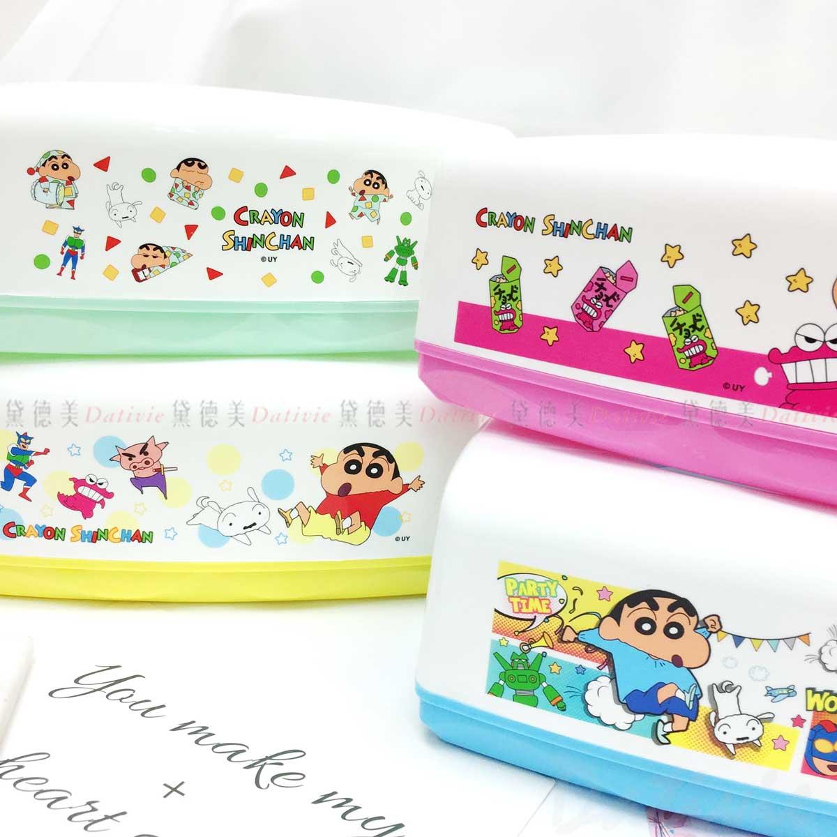 面紙盒-蠟筆小新 Crayon Shin Chain クレヨンしんちゃん 正版授權