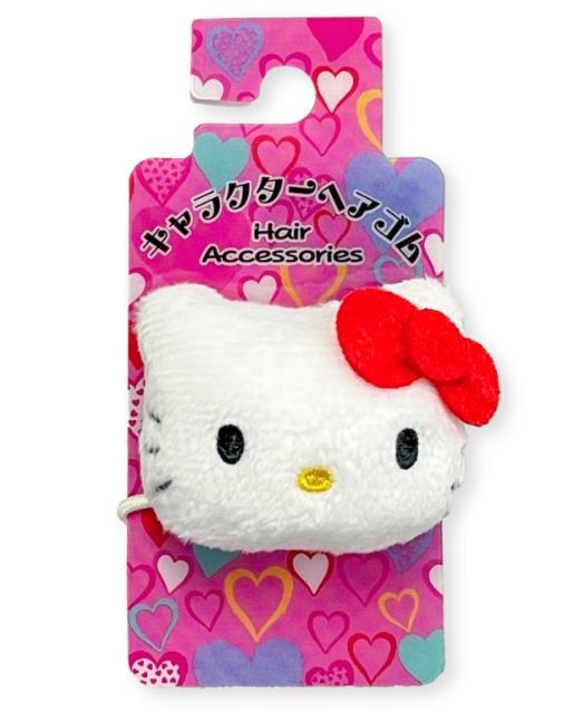 三麗鷗絨毛髮束  凱蒂貓 HELLO KITTYKITTY 日本進口正版授權