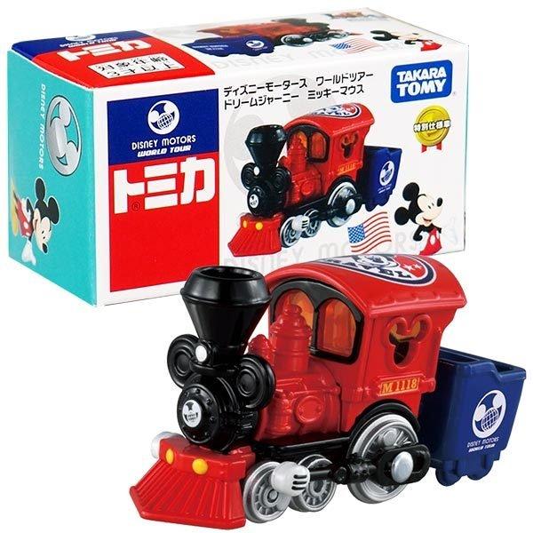 TOMICA迪士尼小車 米奇小火車 日本進口正版授權