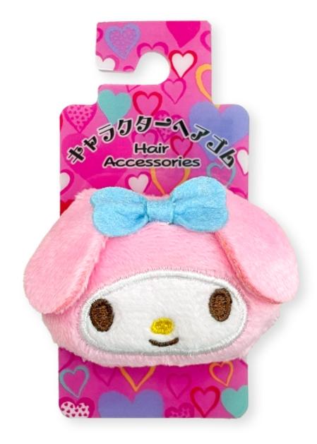 三麗鷗絨毛髮束 美樂蒂 Melady 日本進口正版授權
