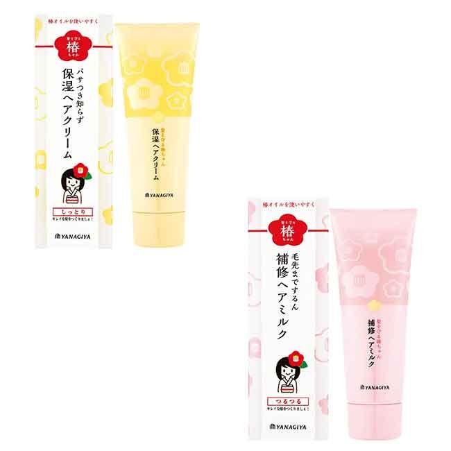YANAGIYA 柳屋 茶花水潤秀髮保濕霜 120G 兩款 日本進口