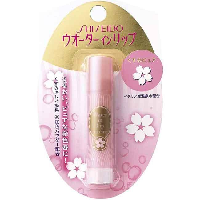 SHISEIDO 水潤護唇膏 櫻花 滋潤 日本進口