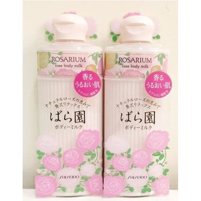 SHISEIDO ROSARIUM 玫瑰仙子潔髮乳 沐浴乳 300ml 日本製