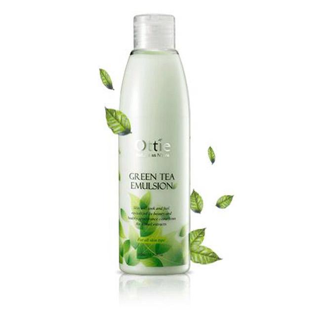 歐緹 綠茶 乳液 溫和 200ml 臉部保養品 韓國製