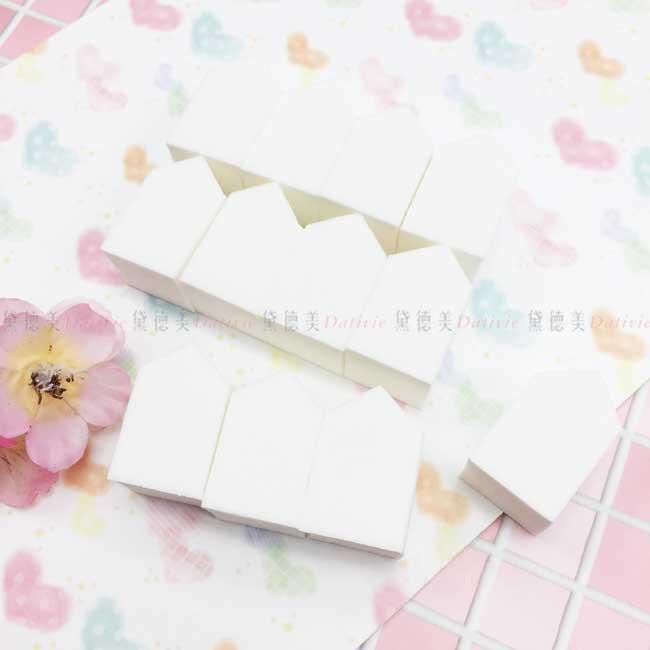 五角形海綿 Lumina 12入 高密度 耐用 兩用化妝海綿