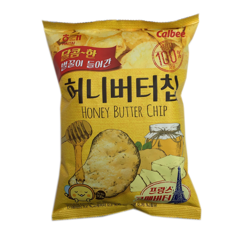 蜂蜜奶油風味洋芋片 HAITAI Calbee 韓國進口