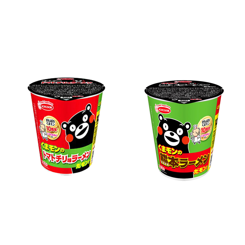 杯麵 熊本熊 ACECOOK 原味 辛辣 泡片 日本進口