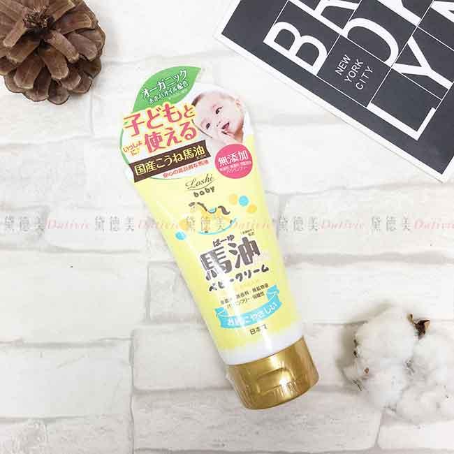 馬油嬰兒嫩膚霜 100g 潤膚乳 護手霜 日本進口