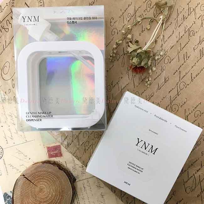 Y.N.M 極簡深層溫和卸妝水 (三合一 眼唇臉) 韓國進口