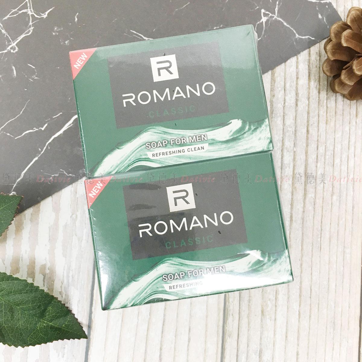 ROMANO 男性香精經典潤膚香皂 四入一組 越南製造