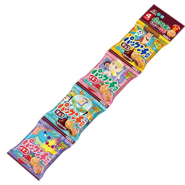 玩具總動員 4連夾心圓餅 零食 日本進口