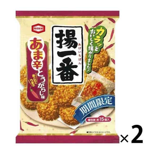 龜田製菓 辛辣風味 米菓 零食 日本進口