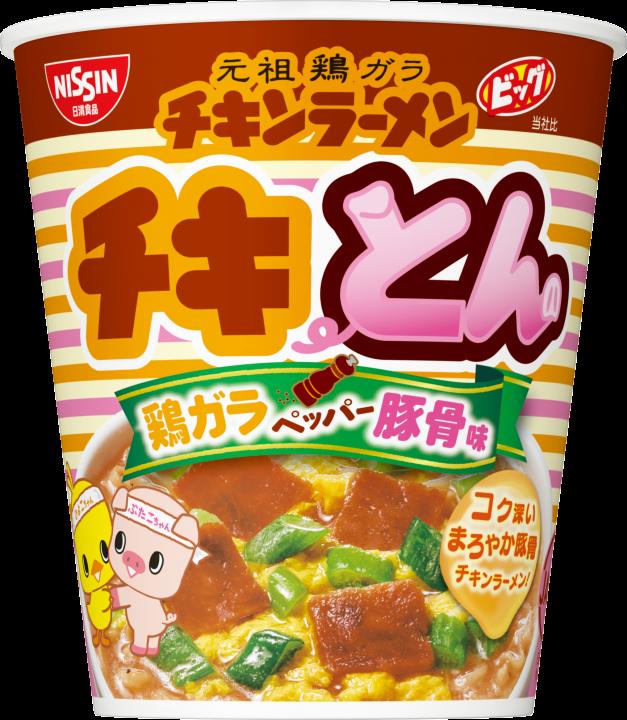 元祖雞 豚骨風味杯麵 泡麵 日本進口