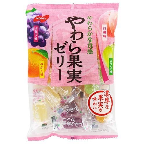 四種水果軟糖 糖果 日本進口