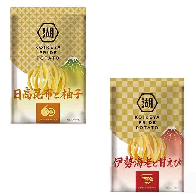 湖池屋 洋芋片(昆布.蝦味) 零時 餅乾 兩款 日本進口