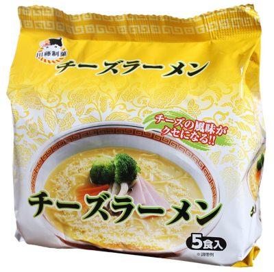 芝士拉麵 五入 泡麵  日本進口
