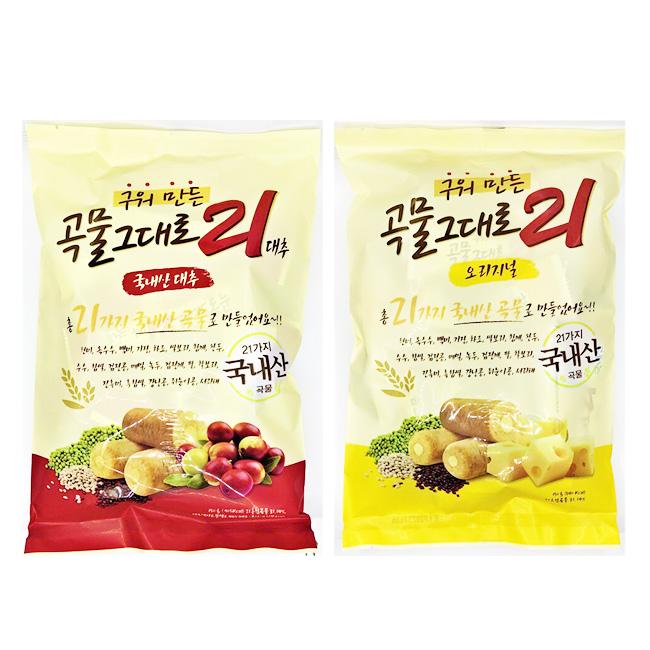 餅乾 穀物 捲餅 大棗 起司 150g 韓國製造進口