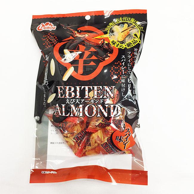 餅乾 杏仁小蝦 點心 37.6g 日本製造進口