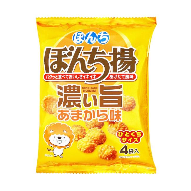 餅乾 一口米果 濃厚 88g 日本製造進口