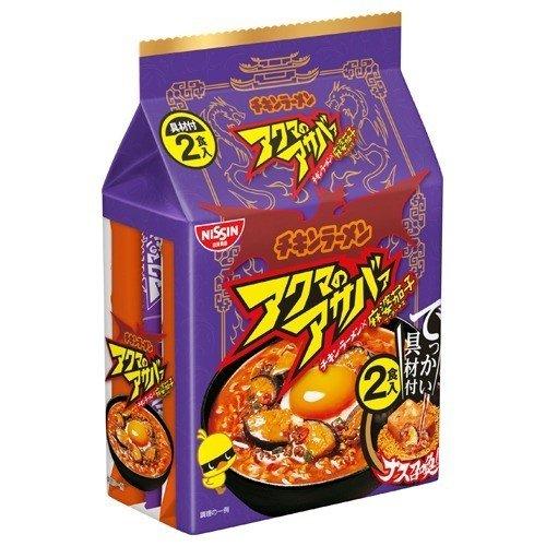 泡麵 日清 元祖雞 麻婆風味 2入/196g 日本製造進口