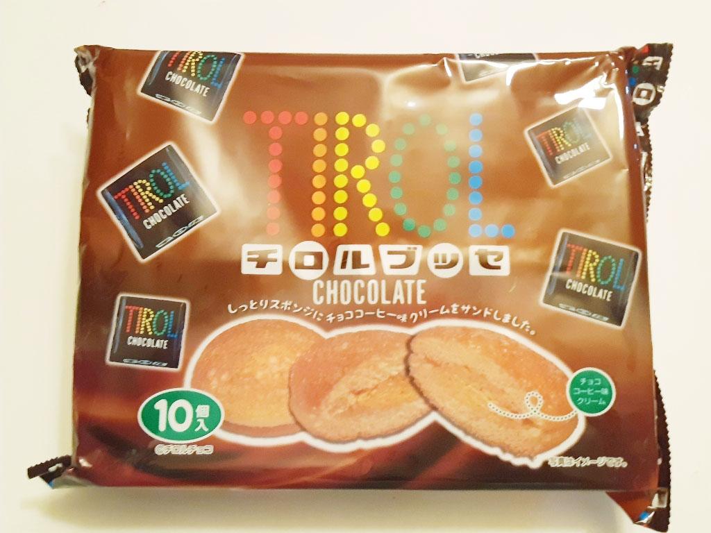 蛋糕 TIROL 巧克力夾心 10入/200g 日本製造進口