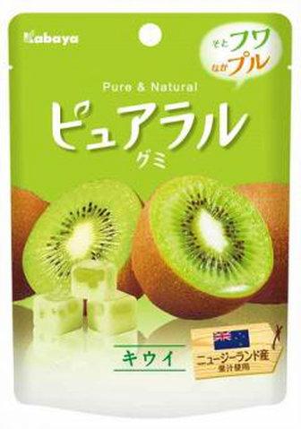 軟糖 Pureral 奇異果  45g 日本製造進口
