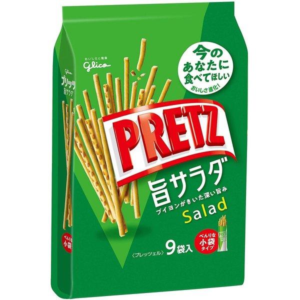 餅乾 格力高 沙拉棒 9袋/143g 日本製造進口